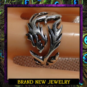 Unisex Large Asian Dragon Ring #289